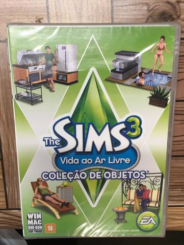 the sims 3 vida ao ar livre coleção de objetos pc