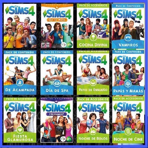 the sims 4 colección + the sims 3 colección completa