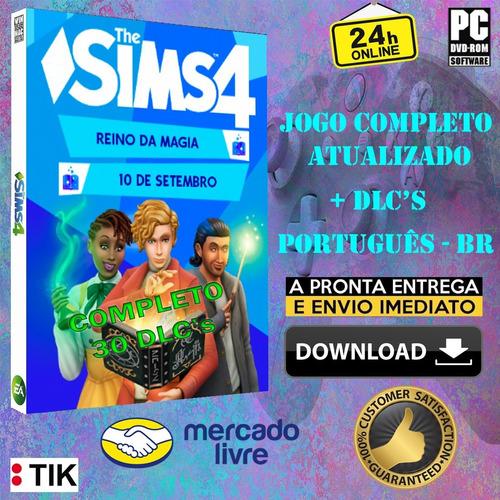 the sims 4 completo - ilhas tropicais - 29 dlcs(todas) 13/08 - coleção moschino