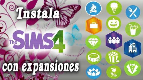 the sims 4 digital original + todas las expansiones 2018!!