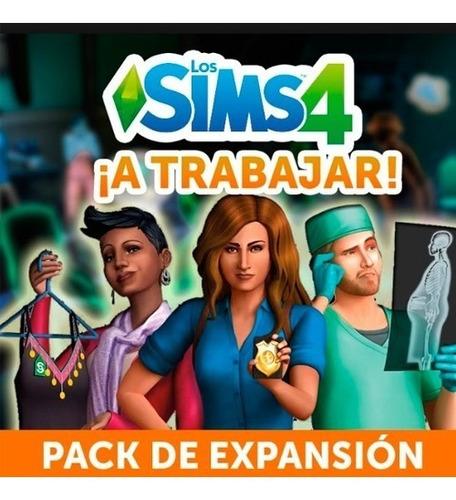 the sims 4 pc  a trabajar  expansion original entrega ya