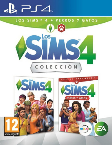 the sims 4 + perros y gatos ps4 físico envio gratis jazz pc