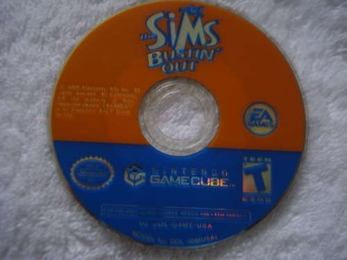 the sims bustin out nintendo gamecube y wii