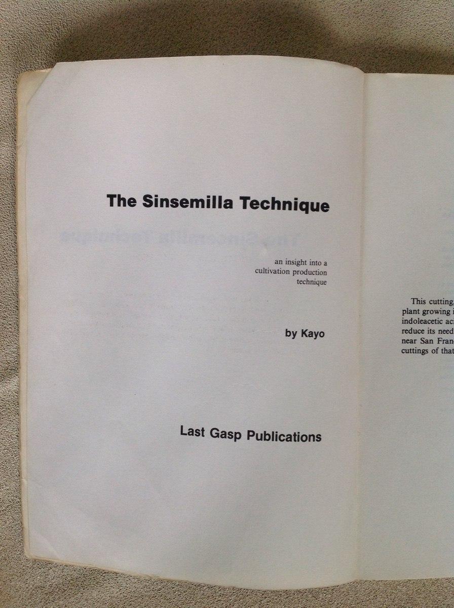 THE SINSEMILLA TECHNIQUE PDF DOWNLOAD
