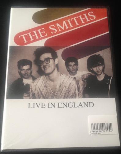 the smiths live in england dvd raro novo + 2 faixas bônus la
