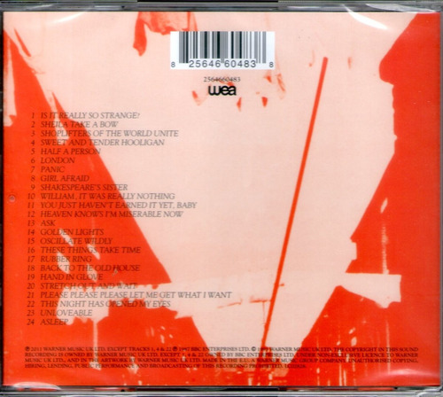 the smiths louder than bombs cd sellad uk morrissey ciudad