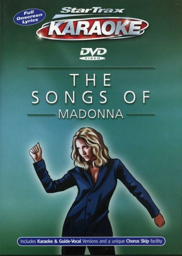 the songs of madonna / startrax karaoke uk / new / sealed