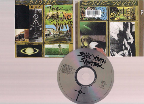 the sonic youth -  nothing´s shocking- cd - by maceo