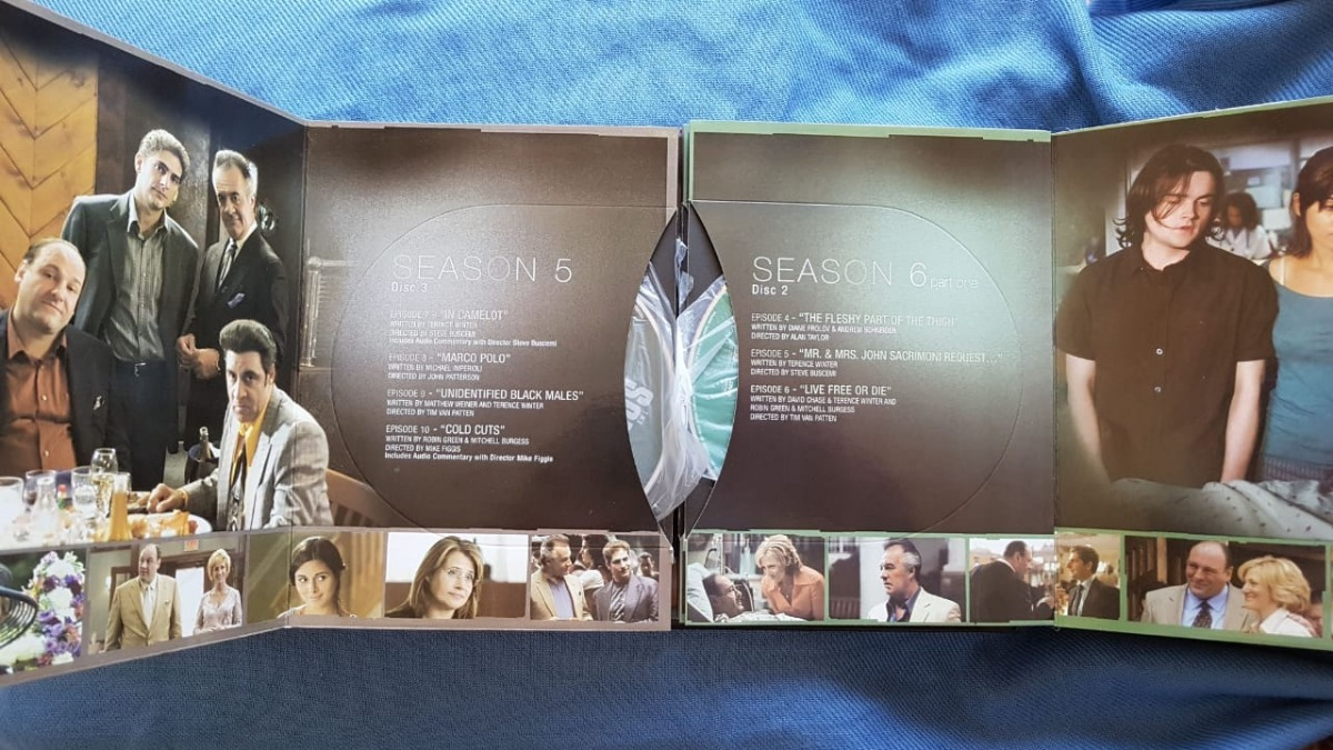 The Sopranos Coleção Completa - Original Americano - 30 Dvd