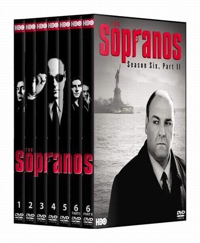 the sopranos - completa temp 1 a la 6 - dvd.