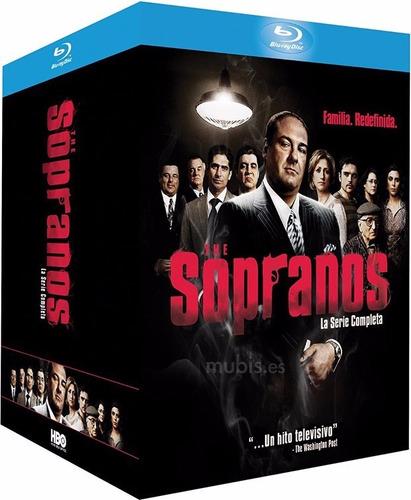 the sopranos la serie completa 28 discos blu-ray sopranos