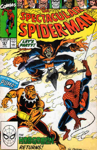 the spectacular spider-man 161 * fev/90