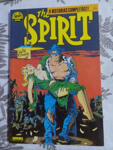 the spirit - will eisner- 4 historias completas