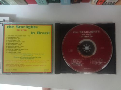 the starlights - ao vivo em salvador-ba 1999  rarissimo '