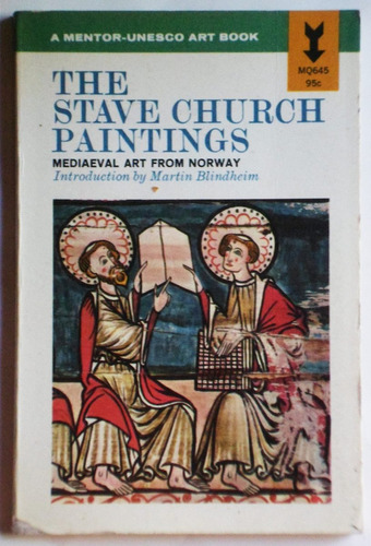 the stave church paintings / ed. mentor- unesco 1965