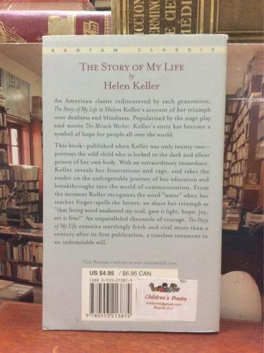the story of my life - helen keller - bantam classic - 2005
