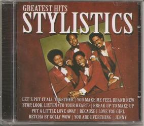 The Stylistics Greatest Hits Cd Lacrado Novo Reputação 100%