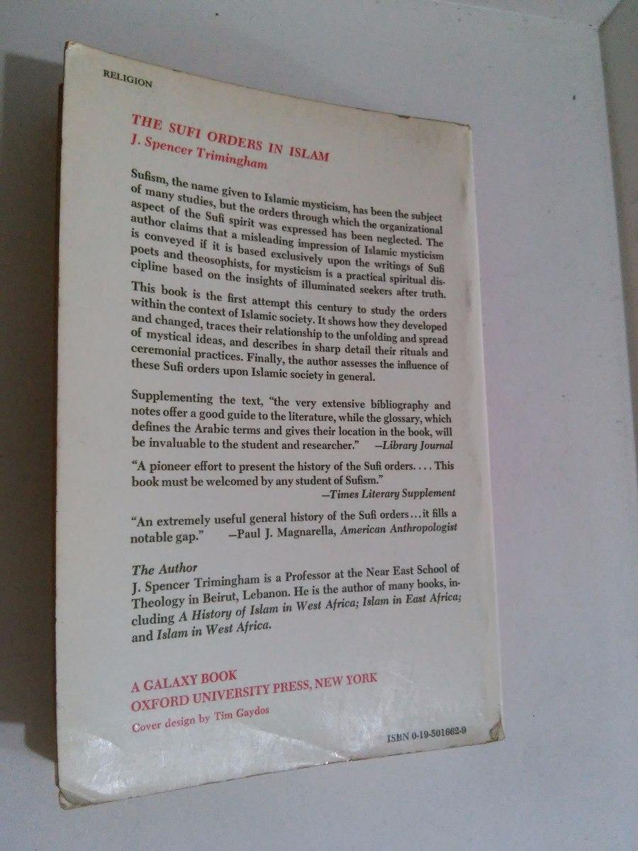 SUFI ORDERS IN ISLAM TRIMINGHAM PDF DOWNLOAD
