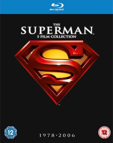 the superman 5 film collection - blu ray nuevo y sellado