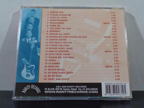 the surphonics - let it beat - cd orig imp rockabilly av8
