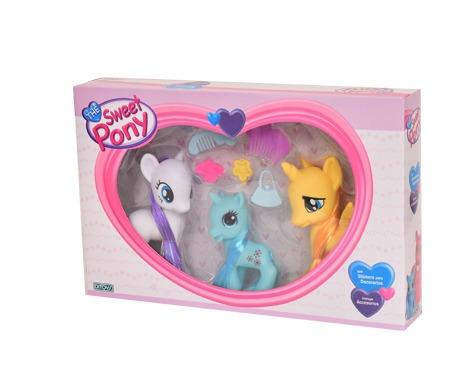 the sweet pony set con accesorios art 1996 original ditoys