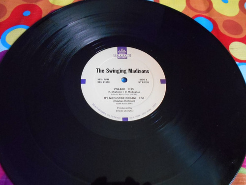 the swinging madisons lp side on r