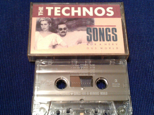 the technos cassette songs for a nervous world
