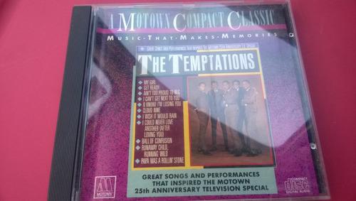 the temptations cd motown