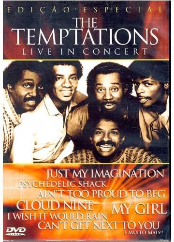 the temptations live in concert edição especial dvd