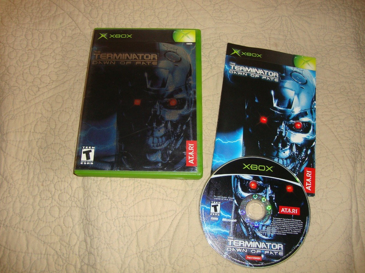the terminator: dawn of fate completo para xbox clássico - r$ 89,99