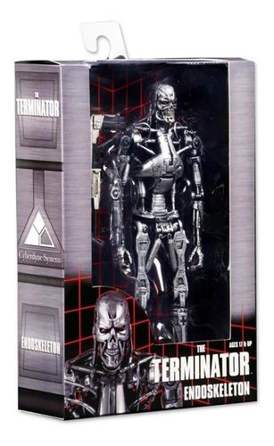 the terminator t-800 endoskeleton n.e.c.a. neca