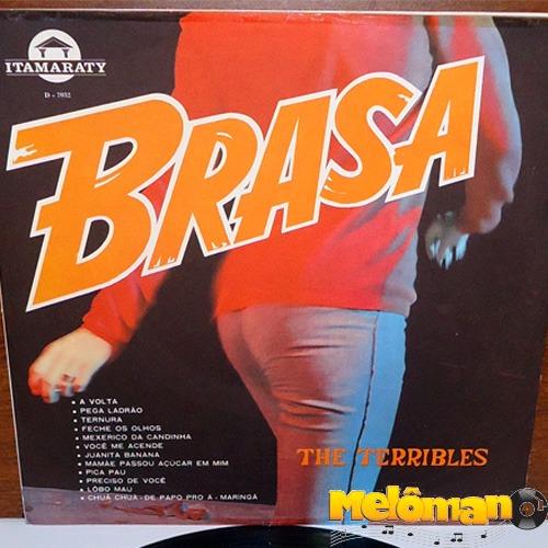da8d642ffd8ae The Terribles 1966 Brasa Lp Lobo Mau   Você Me Acende - R  36