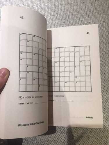 the times ultimate killer su doku - book 1