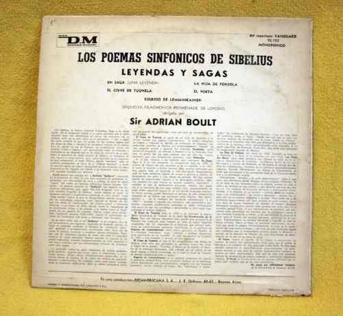 the tone poems of sibelius - sir adrian boult