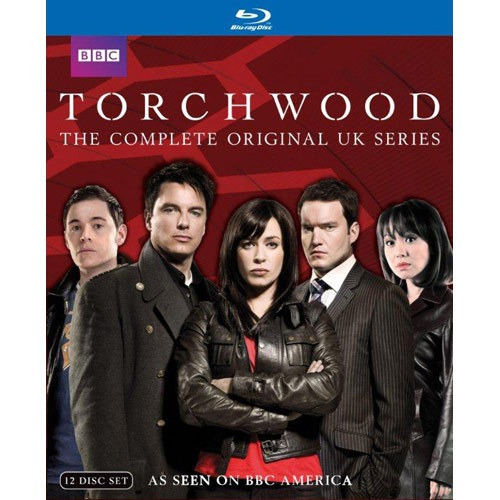 the torchwood la serie completa (uk) blu-ray importada