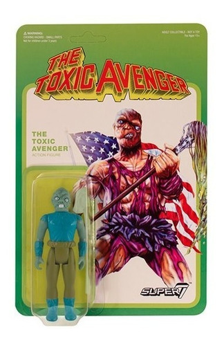 the toxic avenger movie variant - reaction - super7