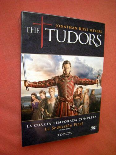 the tudors - cuarta temporada en dvd