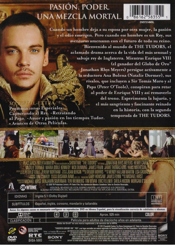 the tudors segunda temporada 2 dos dvd