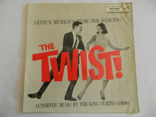 the twist  - jersey bounce / stompin at the savoy - vinil lp