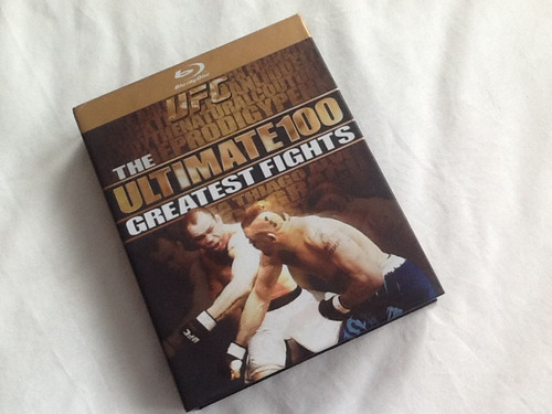 the ultimate 100 greatest fights ufc blue-ray