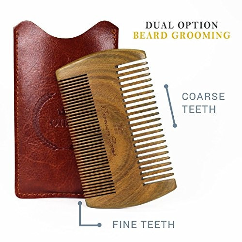 the ultimate beard comb  peine de barba de sandalo de calida