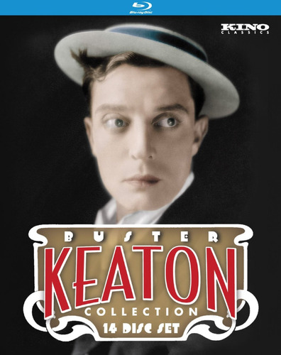 the ultimate buster keaton collection 14-discos blu-ray
