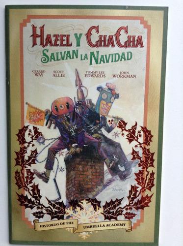 the umbrella academy: hazel y cha cha salvan la navidad