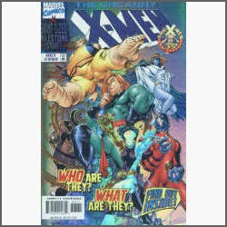 the uncanny x-men nº 360: chris bachalo-capa especial - 1998