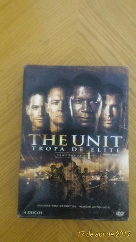 the unit tropa de elite - box dvd 1ª temporada (04 discos)