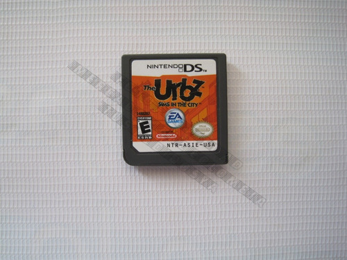 the urbz sims in the city juego  pa consola nintendo ds