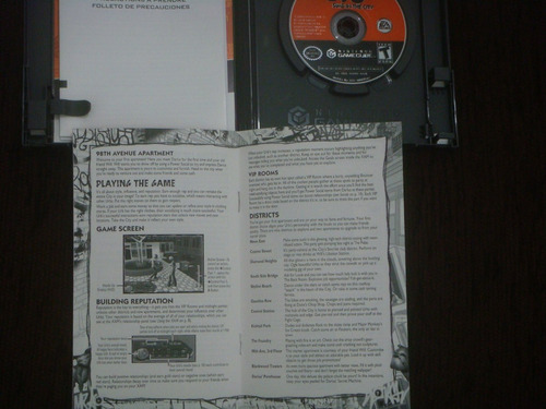 the urbz: sims in the city original e completo ntsc gamecube