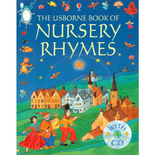 the usborne book of nursery rhymes. includes cd - varios aut