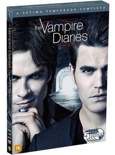 the vampire diaries 7ª temporada - box com 5 dvds