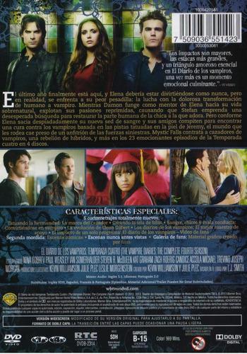 the vampire diaries diario vampiros temporada 4 cuatro dvd